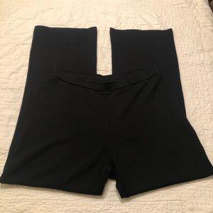 St. John Pants & Jumpsuits - ST. John Basics   Black Knot Wide Leg Pants SZ 10